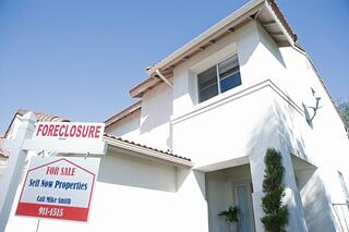home in foreclosure