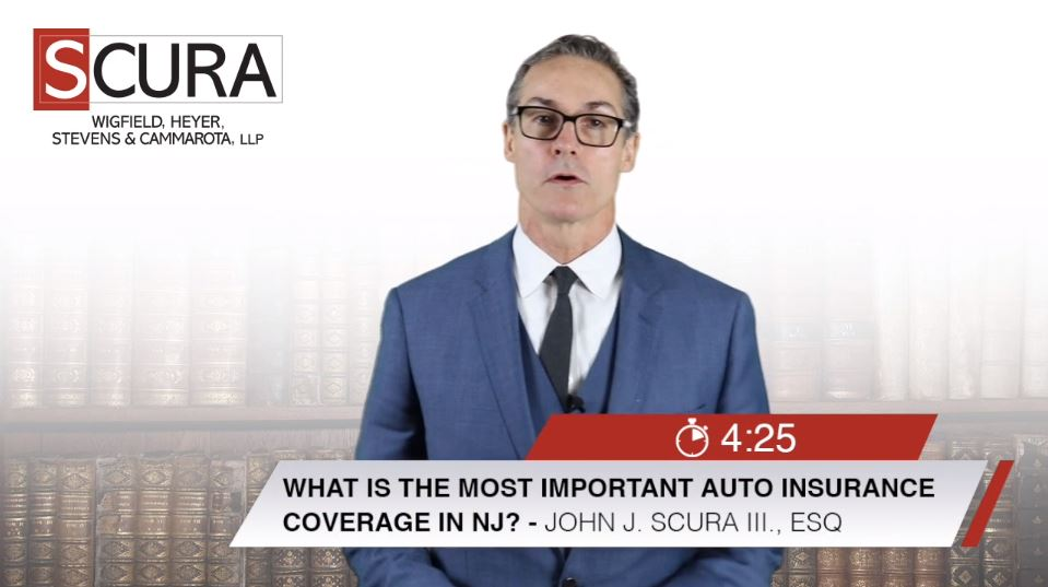 Most Important Auto Insurance Coverage in New Jersey