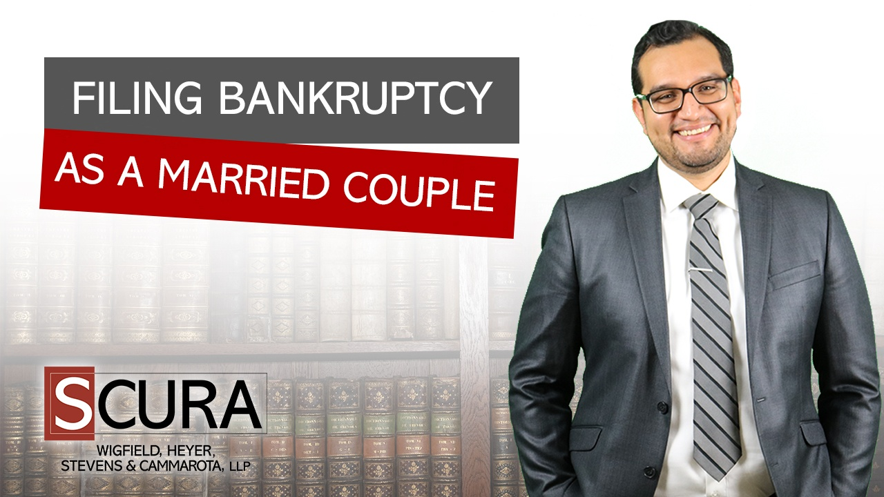 filing bankruptcy as a married couple