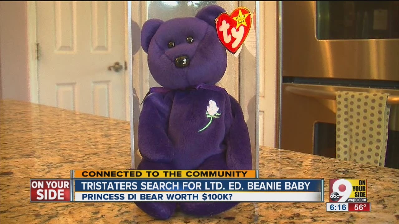 Princess Beanie Baby