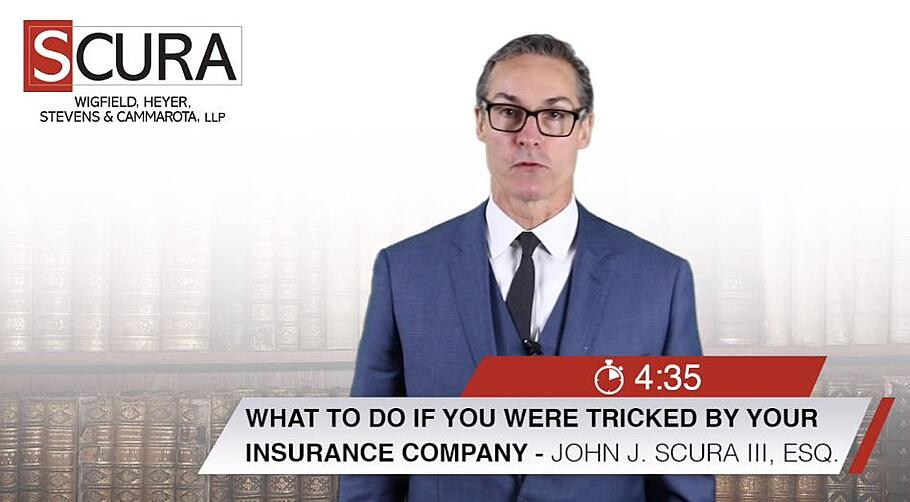 What to do if you were tricked by your insurance company