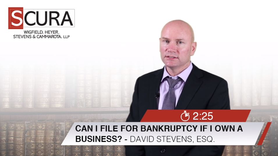 Can I File for Bankruptcy if I Own a Business?