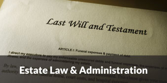 estate law and administration