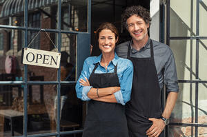 small-business-owners-couple